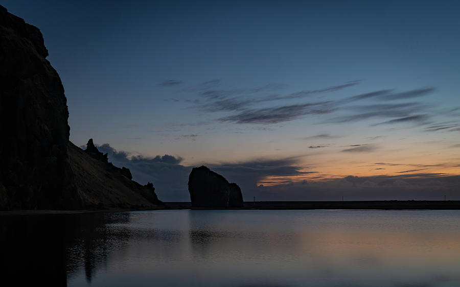 Iceland Photograph - Blue Hour and Rocks by Framing Places