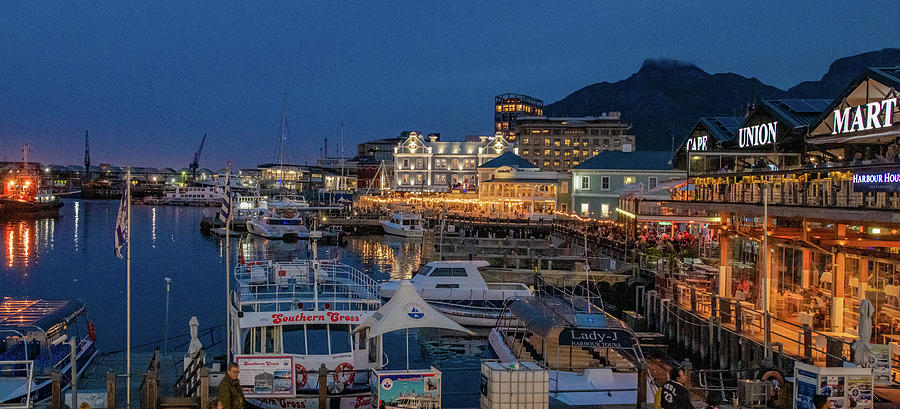 Blue Hour at the Waterfront, Capetown by Marcy Wielfaert