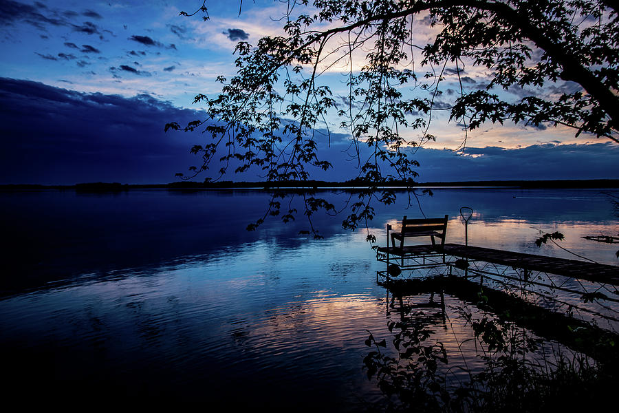 Blue Hour Dock by Neal Nealis