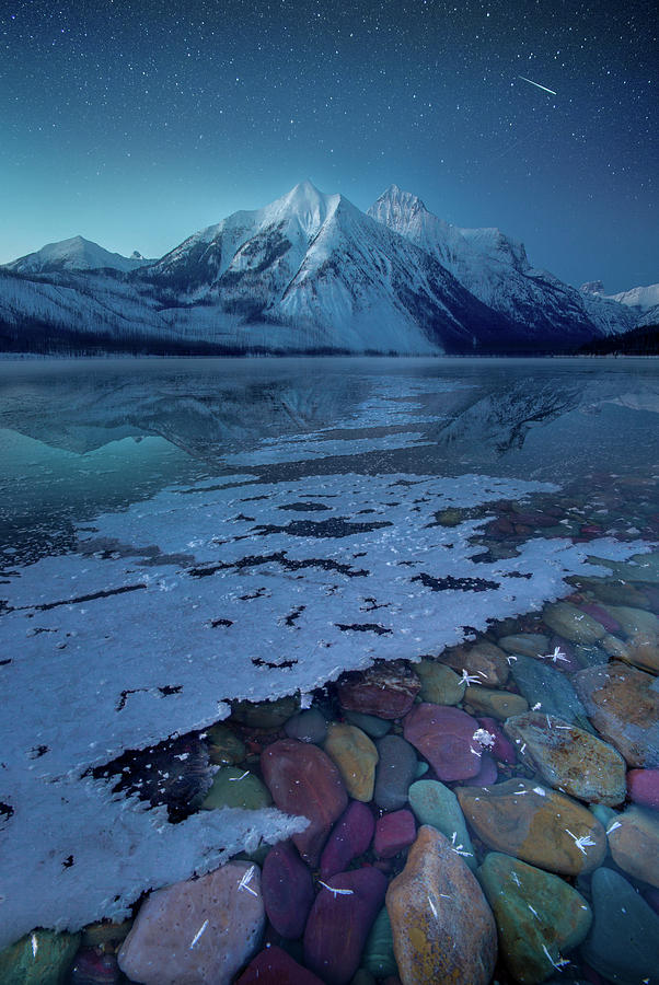Blue Hour / Lake McDonald, Glacier National Park  by Nicholas Parker