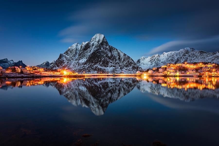 Blue Hour Photograph by Raymond Hoffmann