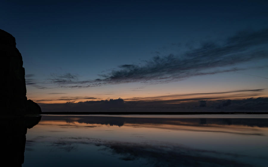 Iceland Photograph - Blue Hour Reflections by Framing Places