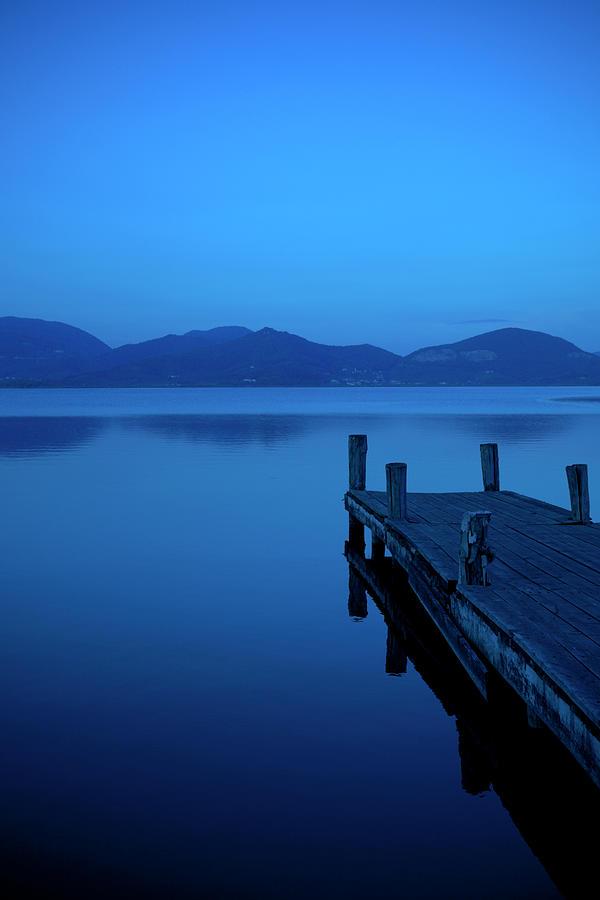 Blue Hour Photograph by T-lorien