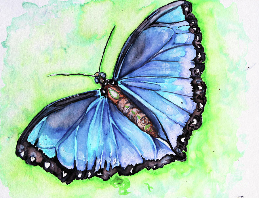 Blue Hues by Alorah Tout