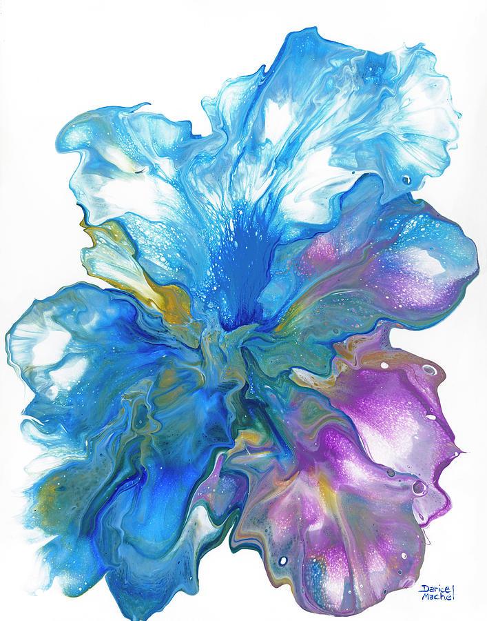 Blue Iris by Darice Machel McGuire