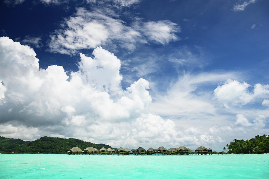 Blue Lagoon Holiday Luxury Resort Photograph by Mlenny