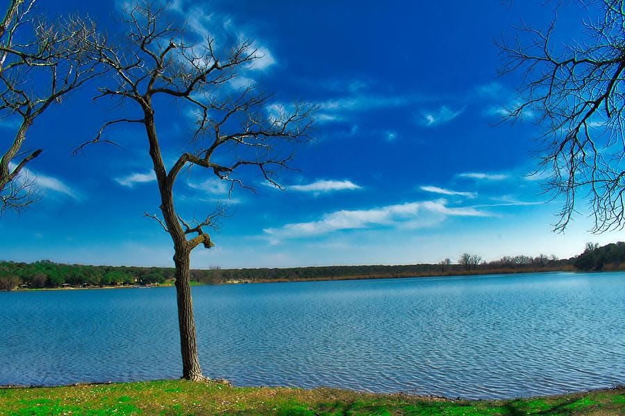 Blue Lake Photograph