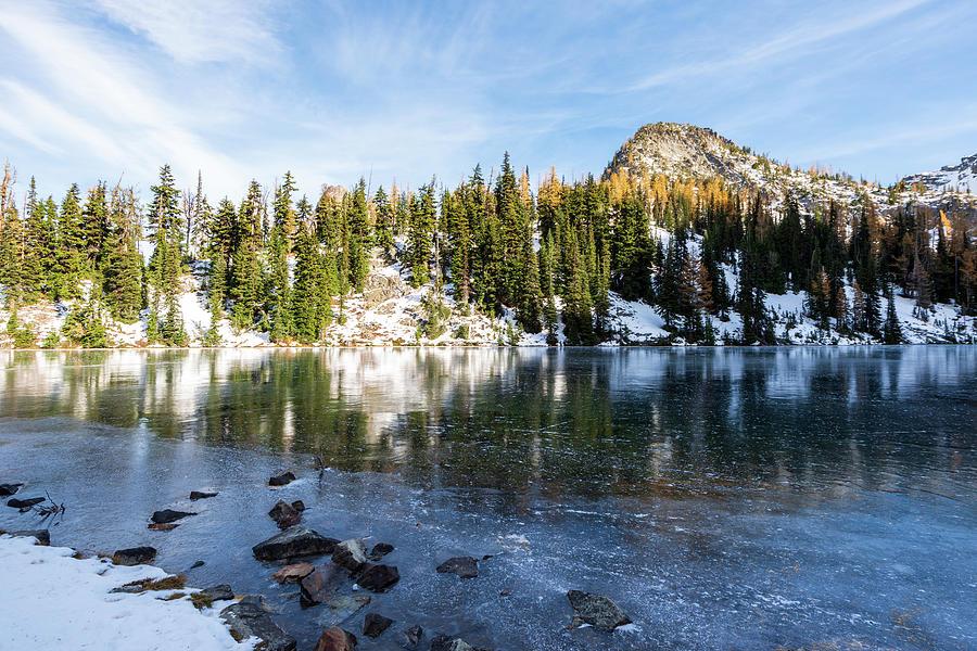 Blue Lake, WA by Michael Lee