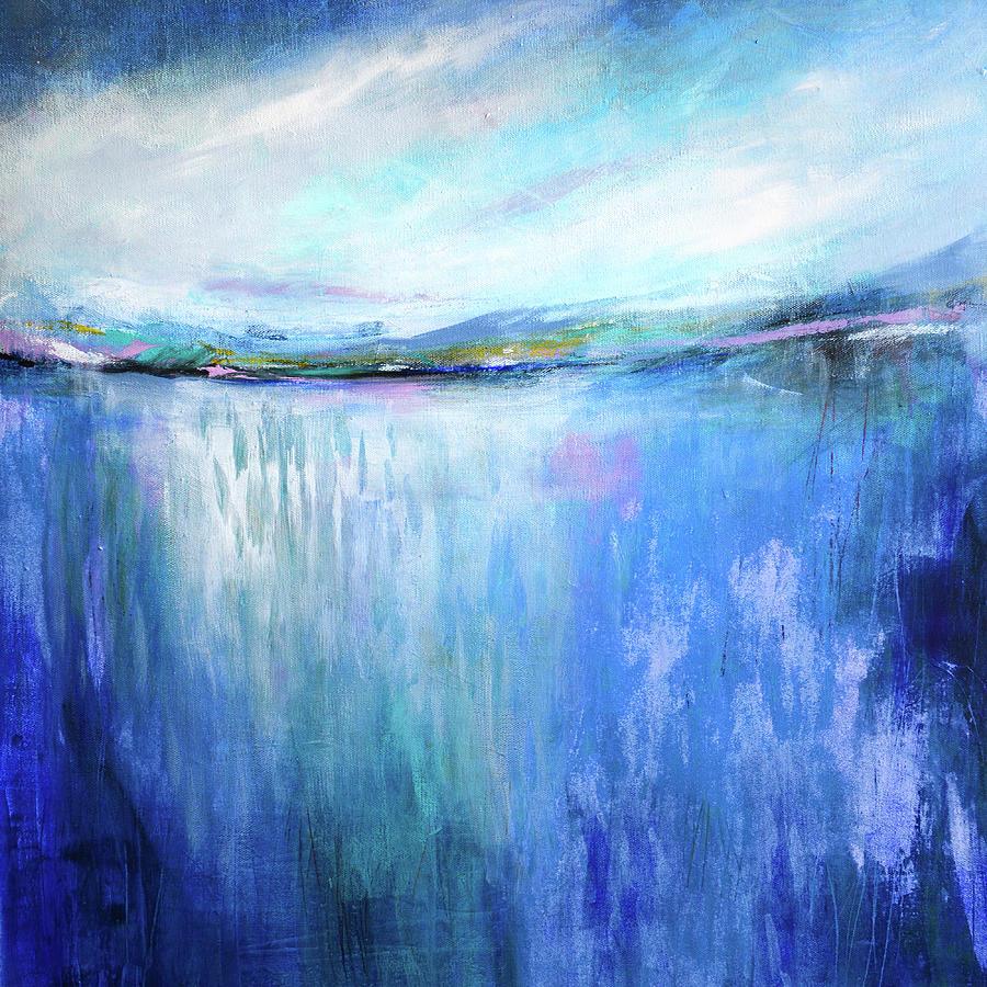 Blue Landscape by Tracy-Ann Marrison