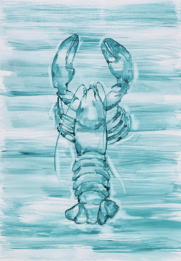 Blue Lobster by Maria Arnaudova