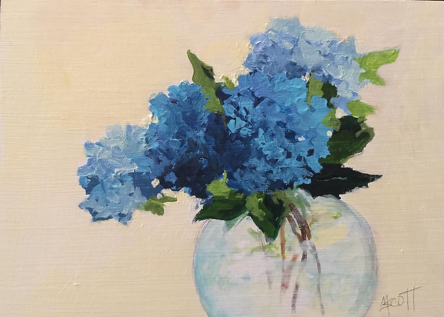 Blue by Mary Scott