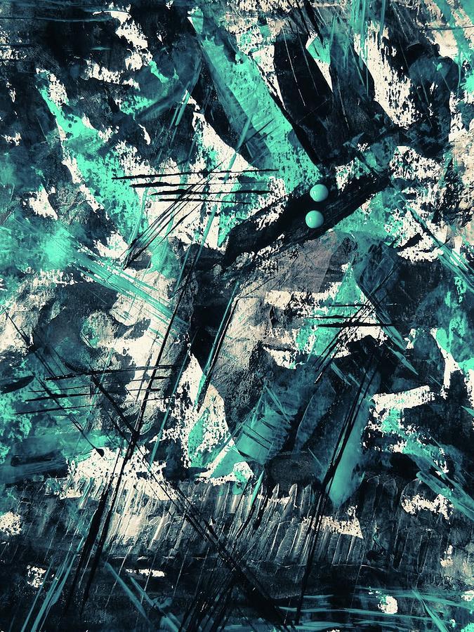 Blue Memory Digital Art