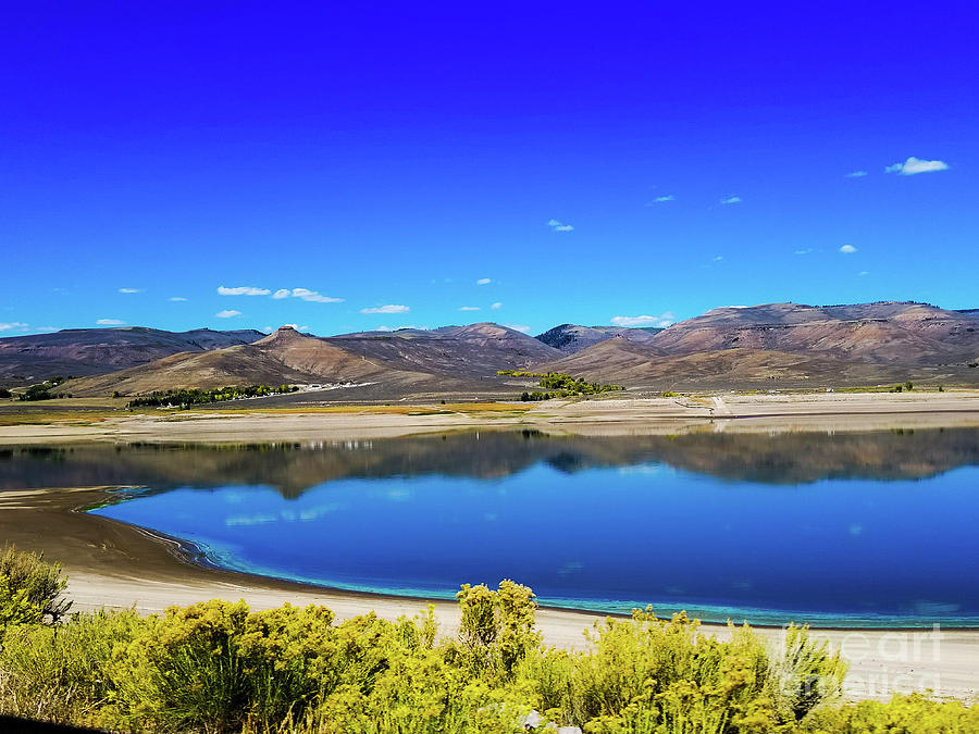 Blue Mesa Reservoir in Colorado by Elizabeth M