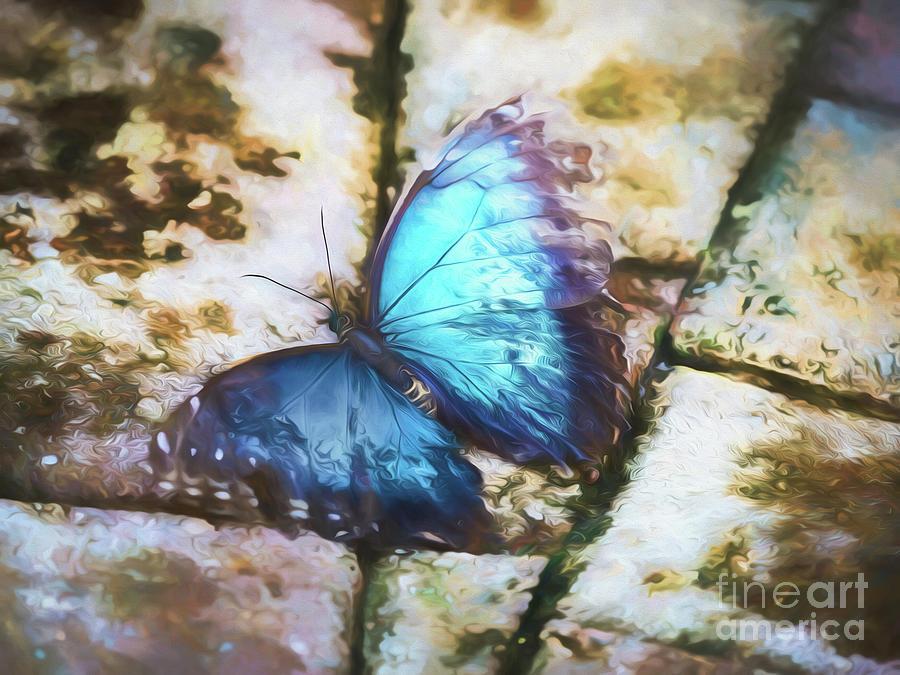 Blue Morph by Robin Zygelman