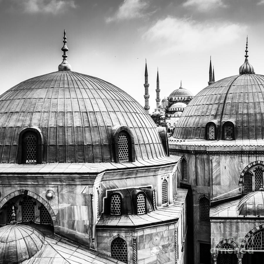 Islamic Photograph - Blue Mosque Or Sultan Ahmed Mosque by Matej Kastelic