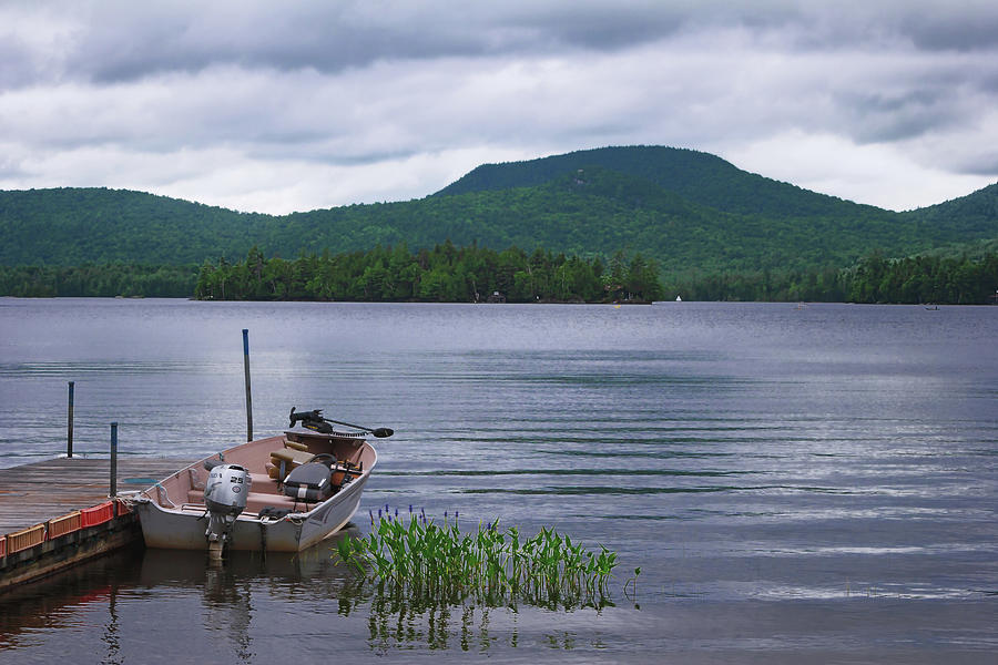 Blue Mountain Lake by Christopher Meade