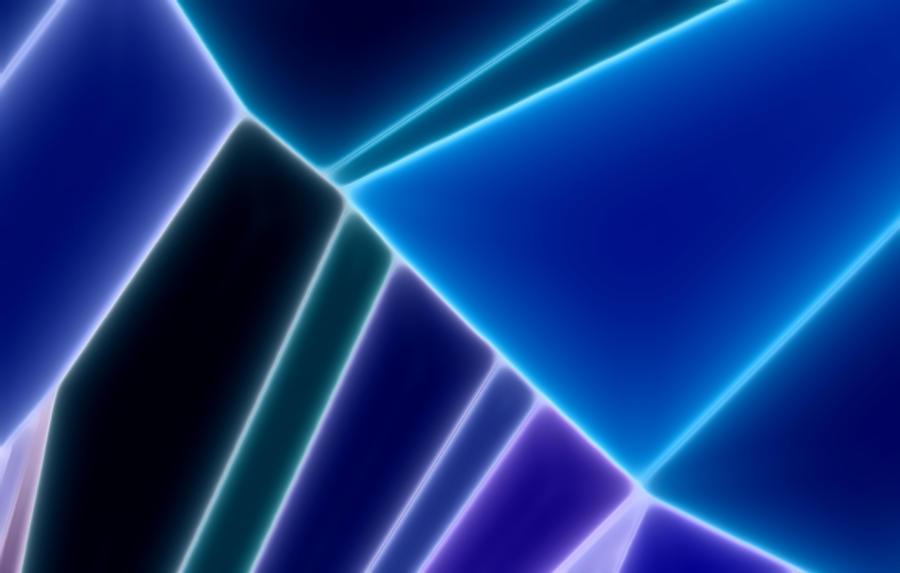 Blue Neon by AJP