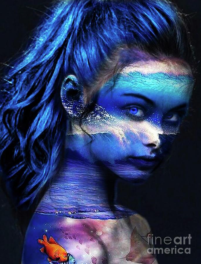 Blue Ocean Girl by Kathy Kelly