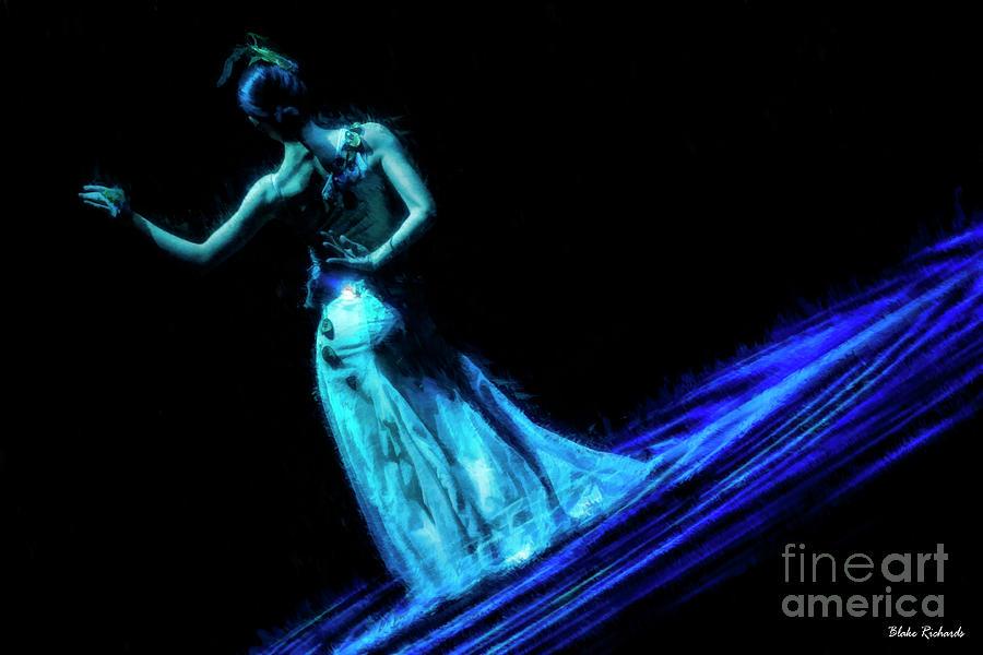 Blue Pond Beauty by Blake Richards
