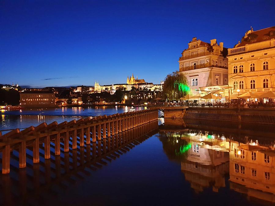 Blue Prague by Andrea Whitaker