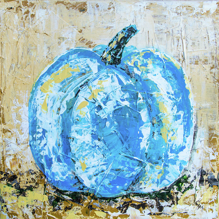 Blue Pumpkin by Cheryl McClure