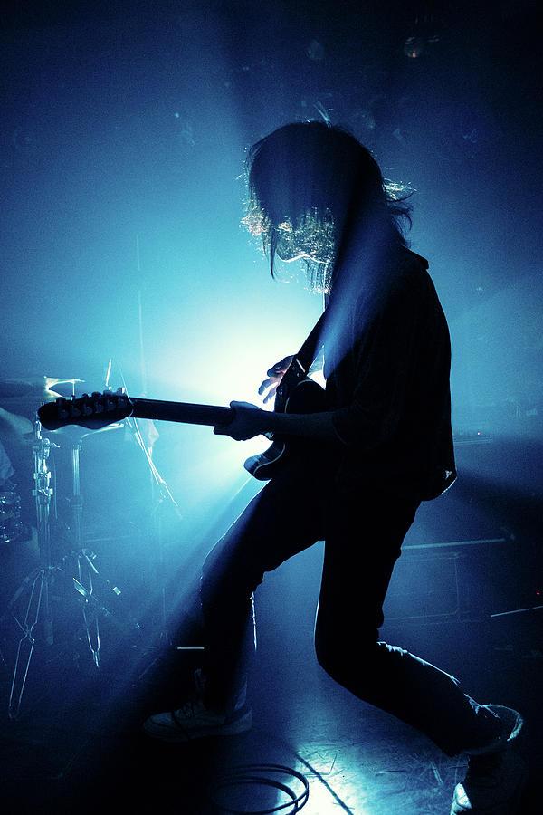 Live Photograph - Blue Ray by Kenji Nakamatsu