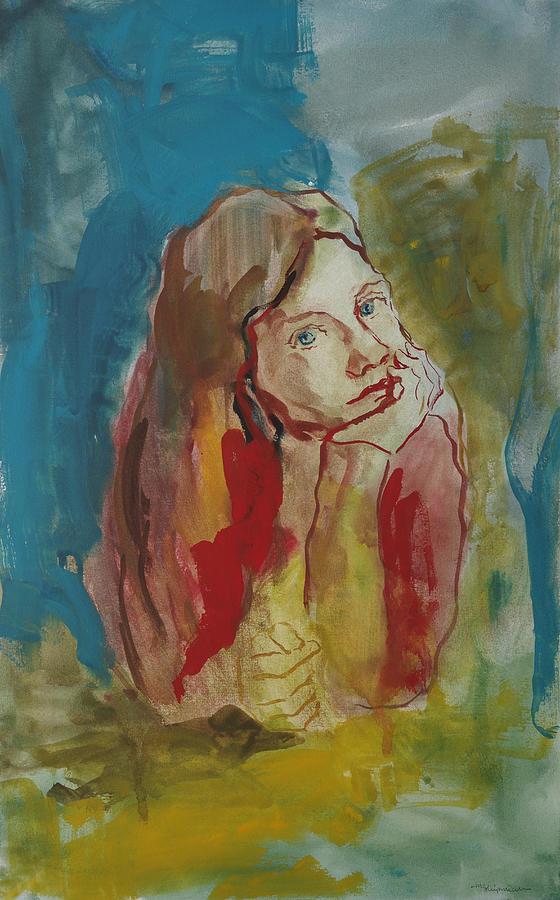 Blue Red Yellow by Michael Shipman