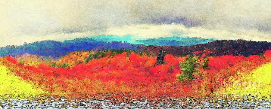 Blue Ridge Autumn Colors AP by Dan Carmichael