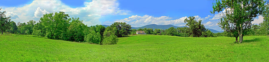 Blue Ridge Country Home by James B Roney