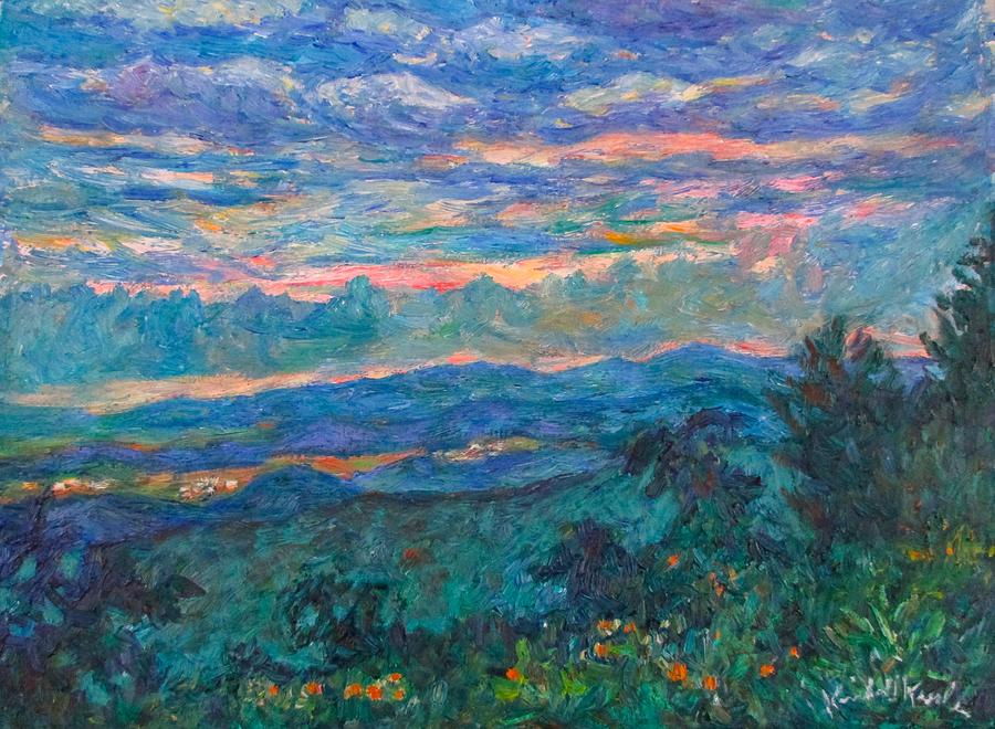 Blue Ridge Evening Light by Kendall Kessler