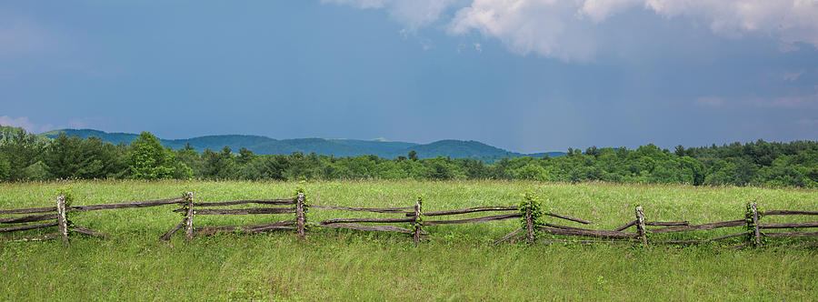 Blue Ridge Fence by Patrick M Lynch