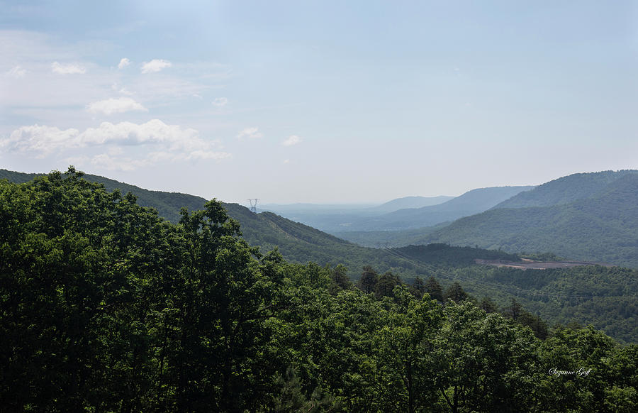 Blue Ridge Mountain Views III by Suzanne Gaff