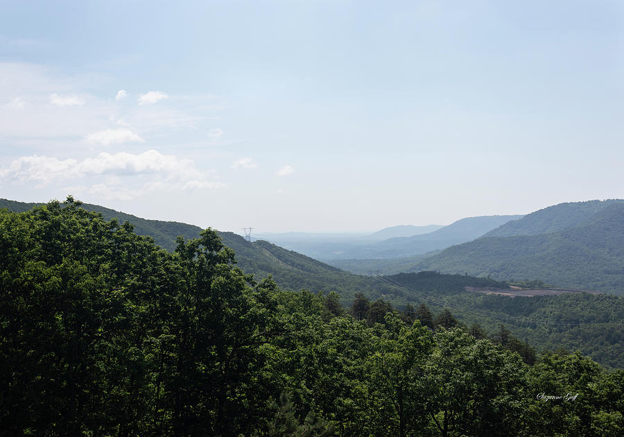 Blue Ridge Mountain Views by Suzanne Gaff