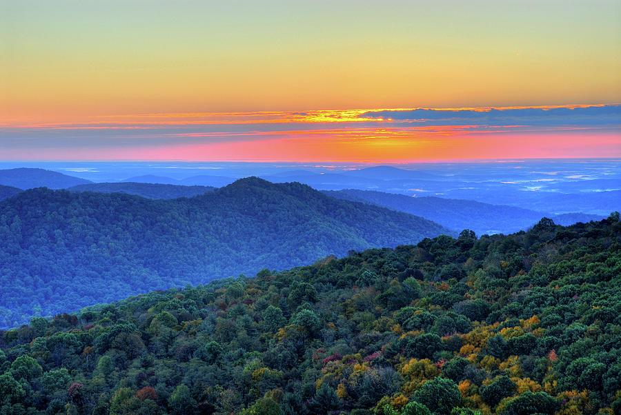 Blue Ridge Mountains Photograph by Nikographer [jon]