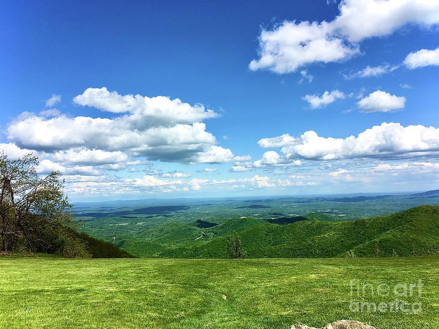 Blue Ridge Parkway Bridge by Eunice Warfel