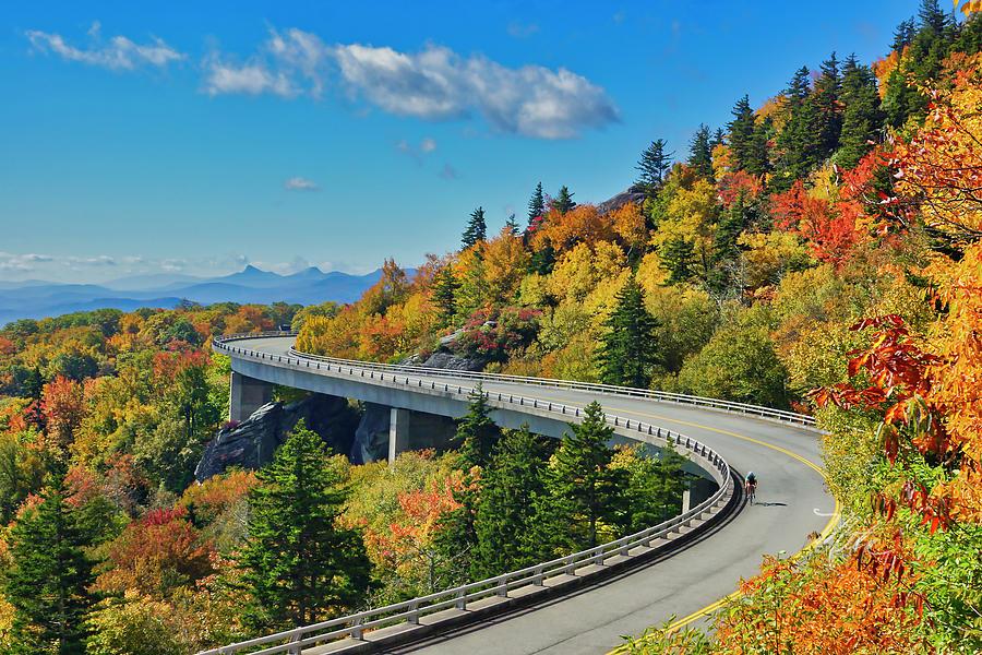Blue Ridge Parkway Viaduct by Meta Gatschenberger