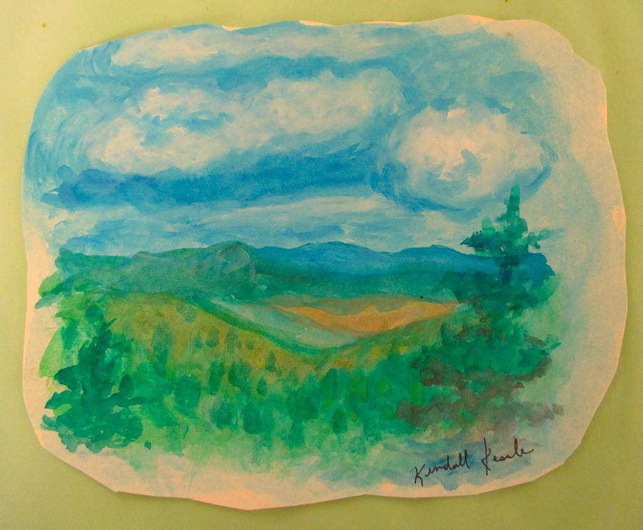 Blue Ridge Pines by Kendall Kessler