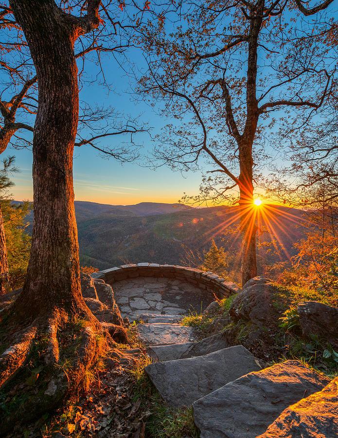 Blue Ridge Sunrise by Mike Koenig