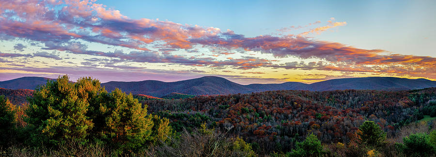 Blue Ridge Sunset by Mark Papke