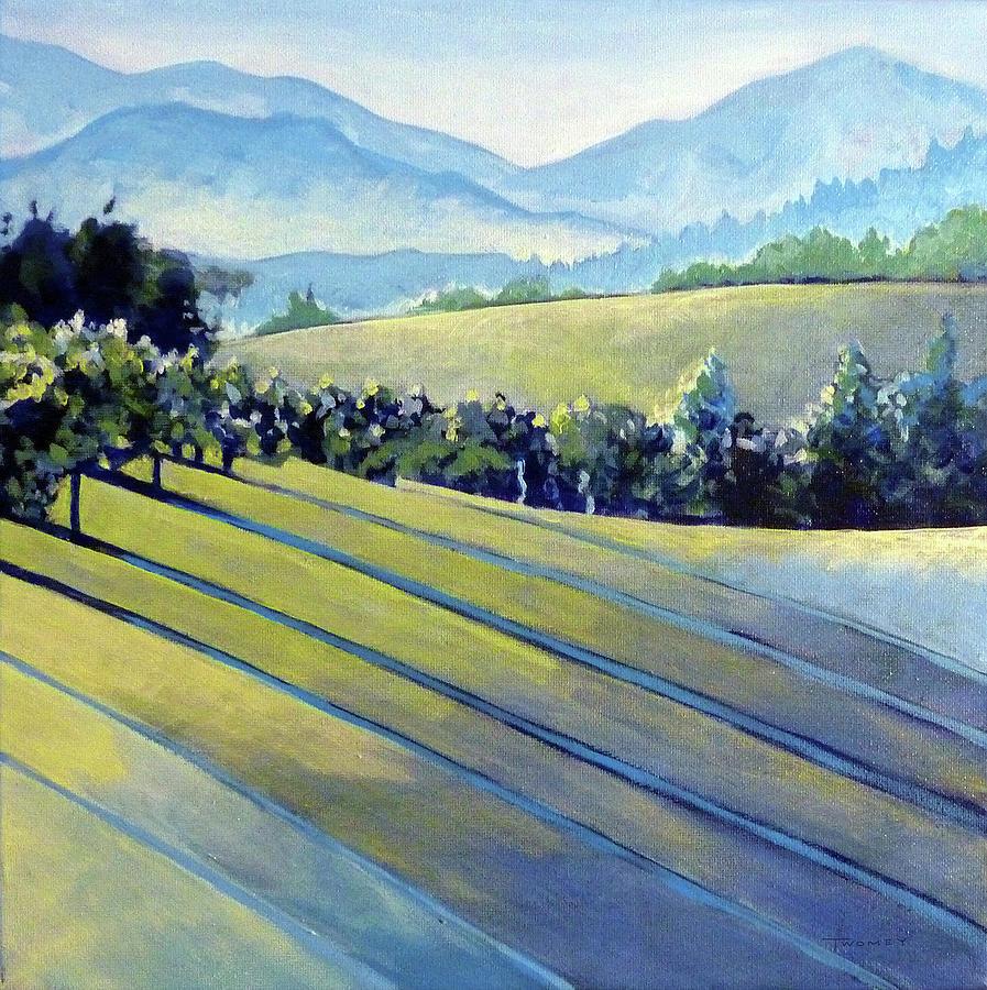 Blue Ridge Vineyards 2 by Catherine Twomey