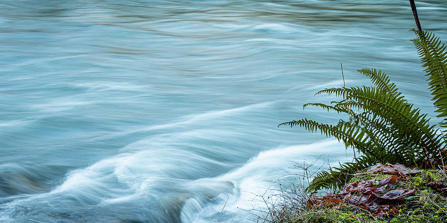 Blue River Flows By by Claude Dalley