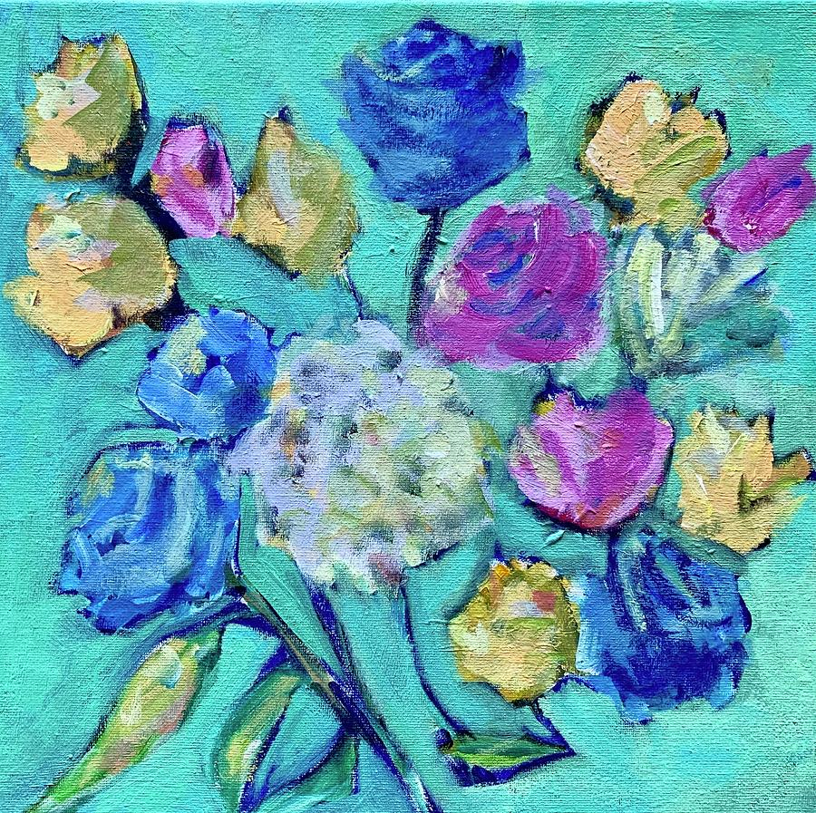 Blue Roses 19.02 by Mary Jane Mulholland