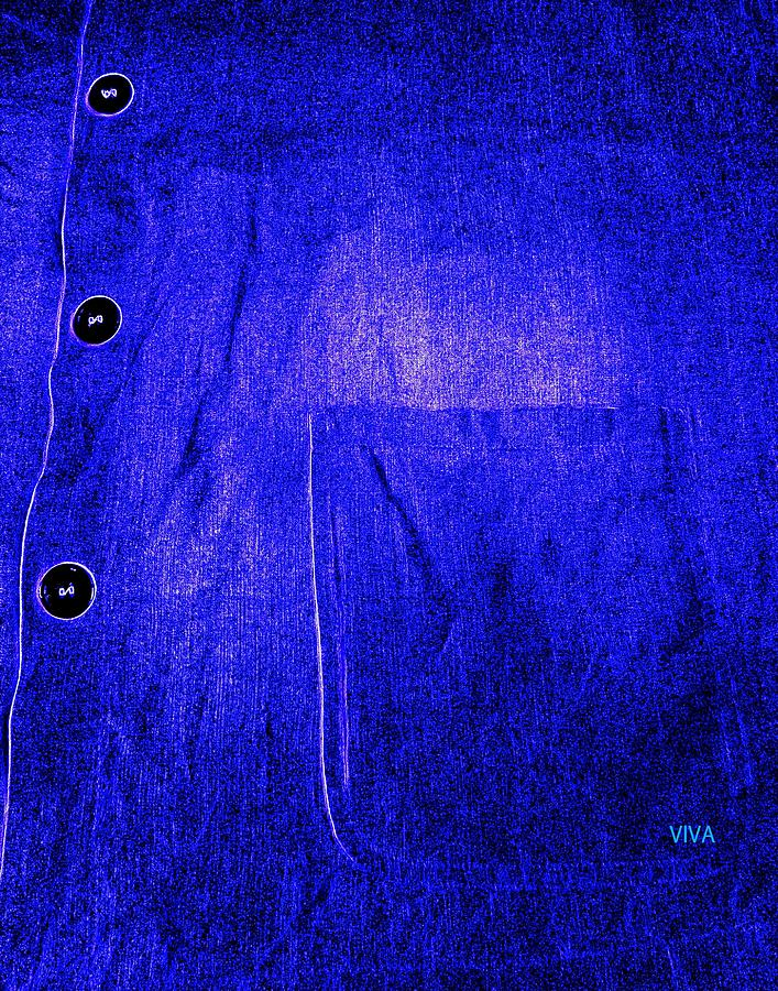 Blue Shirt - Unironed by VIVA Anderson