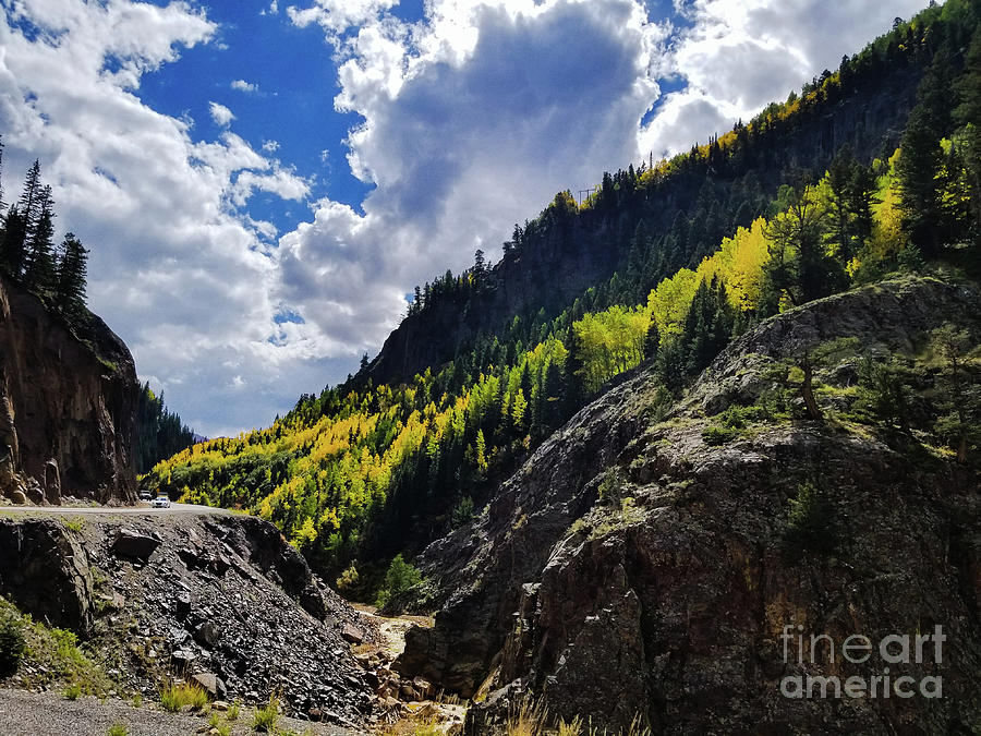 Blue Skies in Colorado by Elizabeth M