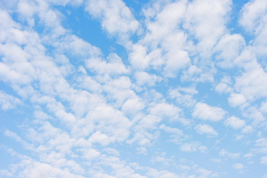 Blue Sky Background Photograph by Triffitt
