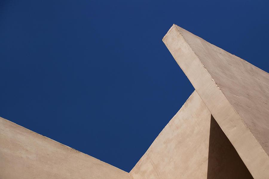 Blue Sky Brown Walls by Prakash Ghai