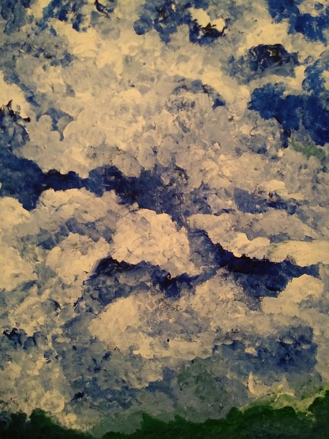 Blue skys by Tina Marie Gill