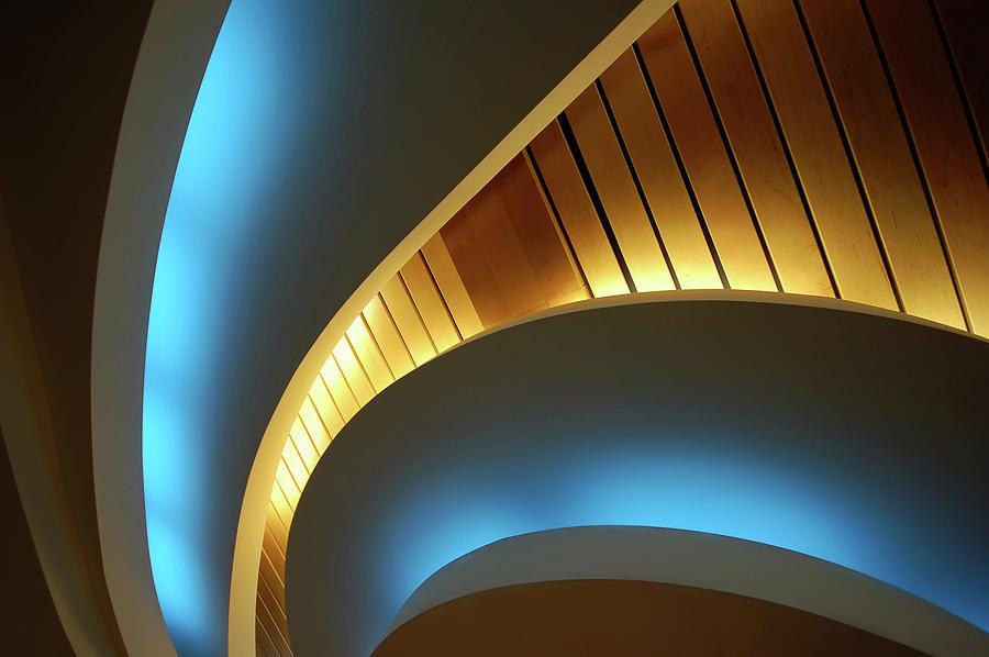 Blue Swirl Photograph by Copyright Ralph Grunewald
