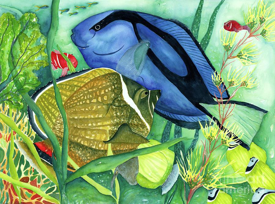 Blue Tang by Deborah Eve Alastra