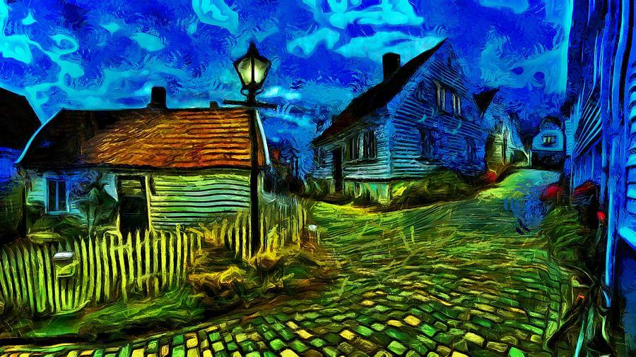 Blue Town by Harry Warrick